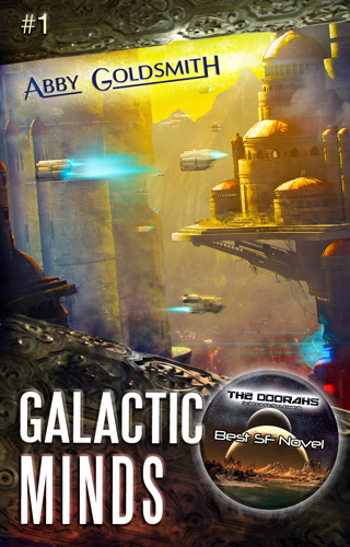 Galactic Minds, by author Abby Goldsmith